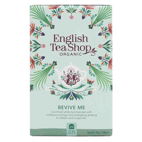 English Tea Shop Organic Wellness Revive Me Tea