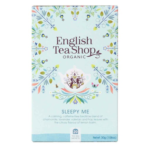 English Tea Shop Organic Wellness Sleepy Me Tea