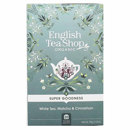 English Tea Shop Organic White Tea, Matcha & Cinnamon