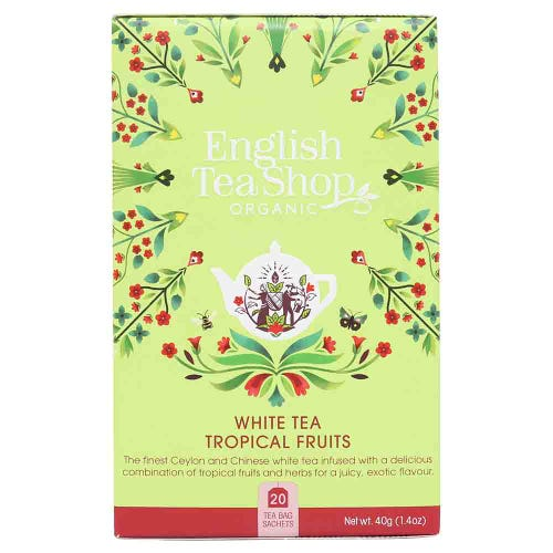 English Tea Shop Organic White Tea & Tropical Fruits