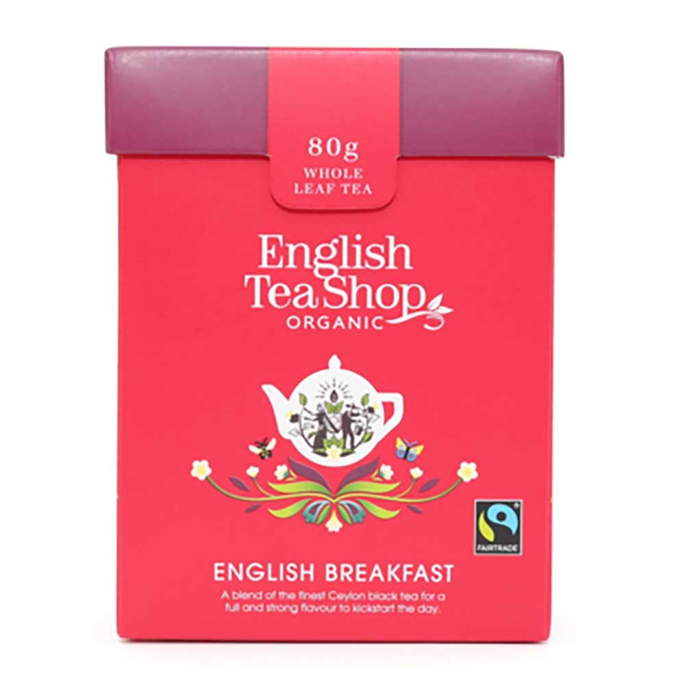 English Tea Shop Organic English Breakfast Tea Loose Tea