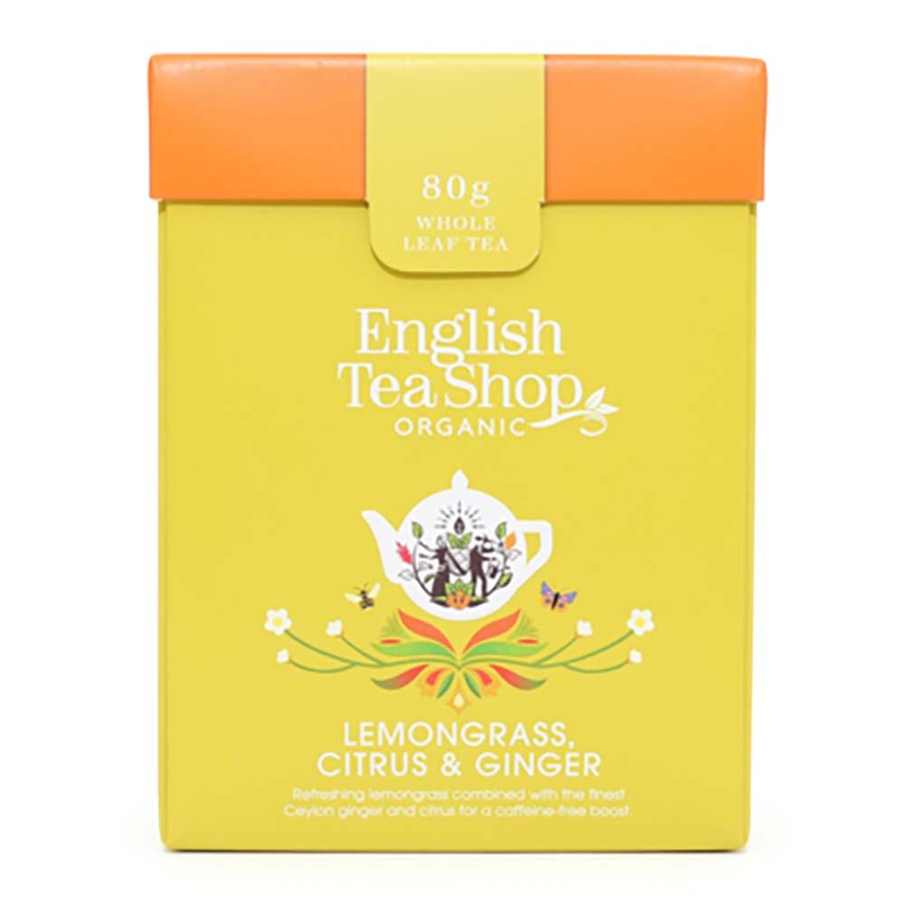 English Tea Shop Organic Loose Leaf Tea - Lemongrass, Citrus & Ginger