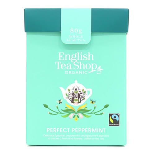 English Tea Shop Organic Loose Leaf Tea - Perfect Peppermint