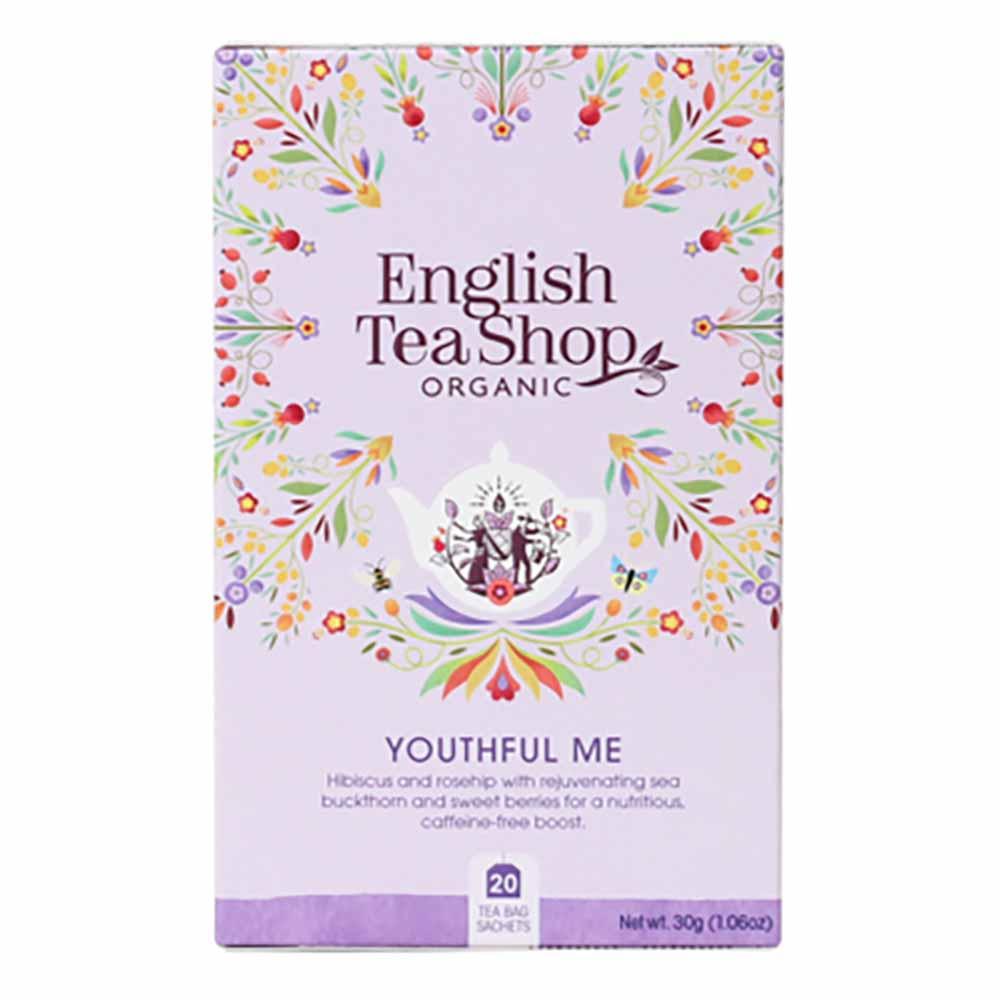 English Tea Shop Organic Wellness Youthful Me Tea
