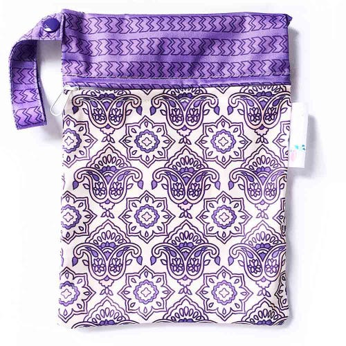 EcoNaps Reusable Mini Wet Bag - Indian Rose