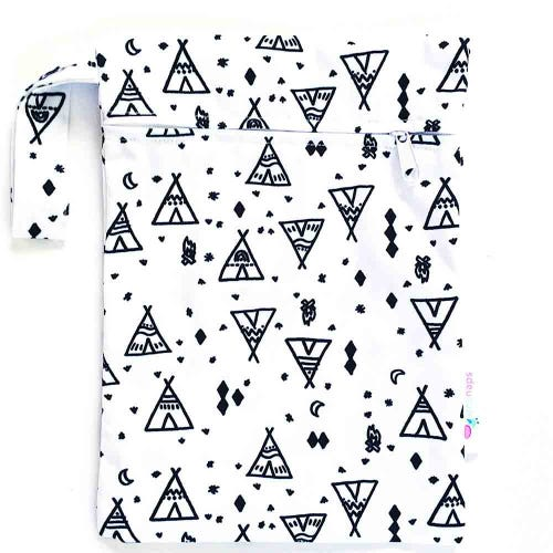 EcoNaps Reusable Mini Wet Bag - Tipi Dreaming