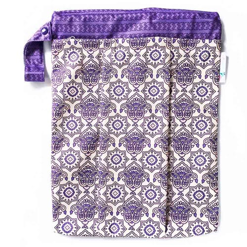 EcoNaps Reusable Wet Bag - Indian Rose
