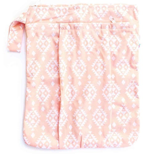 EcoNaps Reusable Wet Bag - Aztec Peach