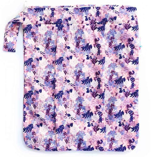 EcoNaps Reusable Wet Bag - Summer Blooms