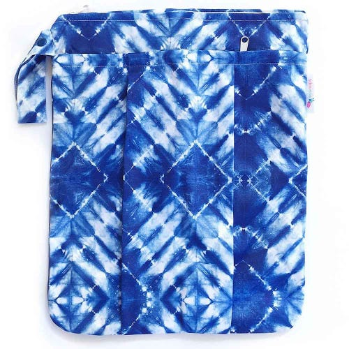 EcoNaps Reusable Wet Bag - Tie Dye