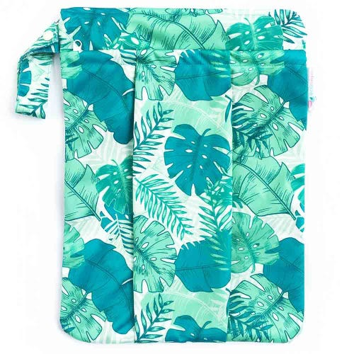 EcoNaps Reusable Wet Bag - Tropical Palms