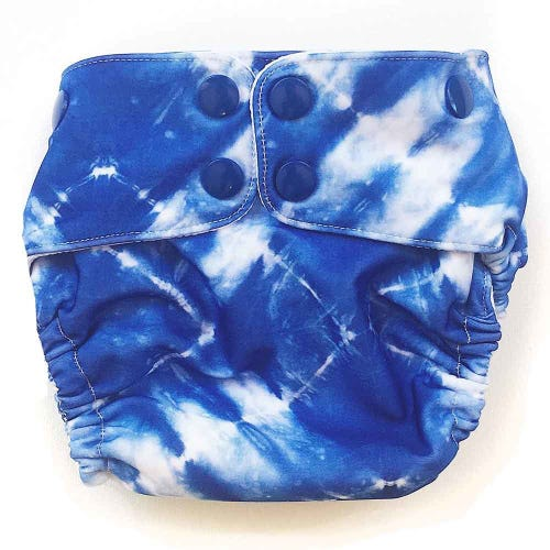 EcoNaps Swim Nappy Tie Dye - Small 6-8kg