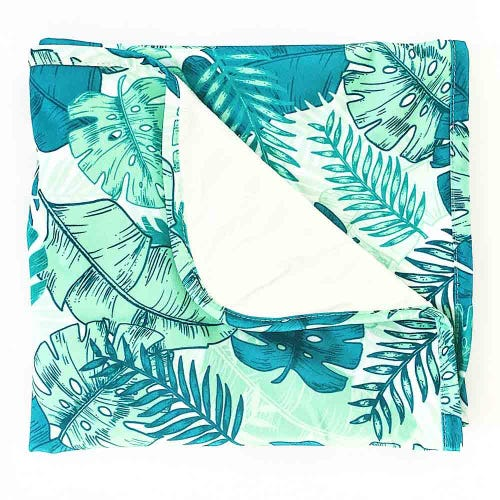 EcoNaps Travel Change Mat - Tropical Palms