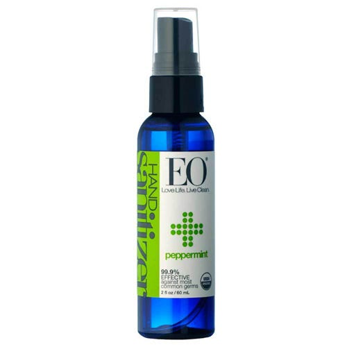 EO Hand Sanitizer Spray Organic Peppermint (60ml)