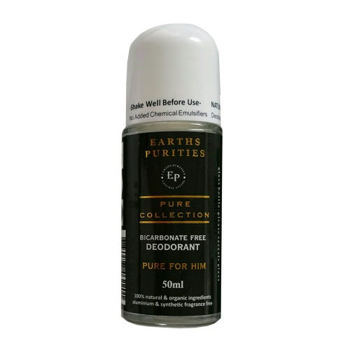 Earth Purities Bicarbonate Free Deodorant For Him (50ml)