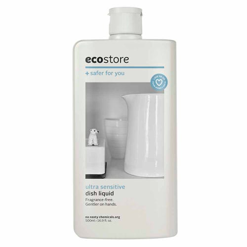 ecostore Dish Liquid Fragrance Free (500ml)
