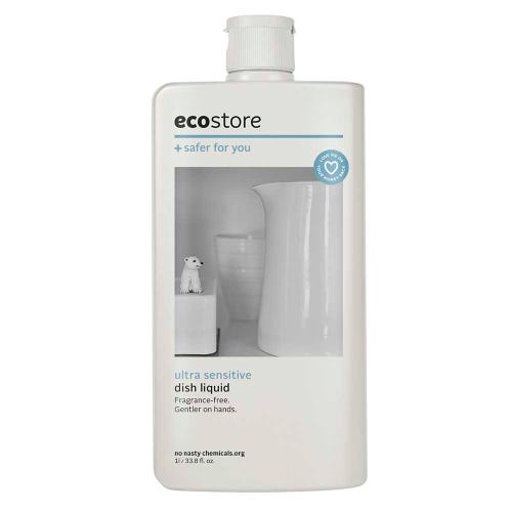 ecostore Dish Liquid Fragrance Free (1L)