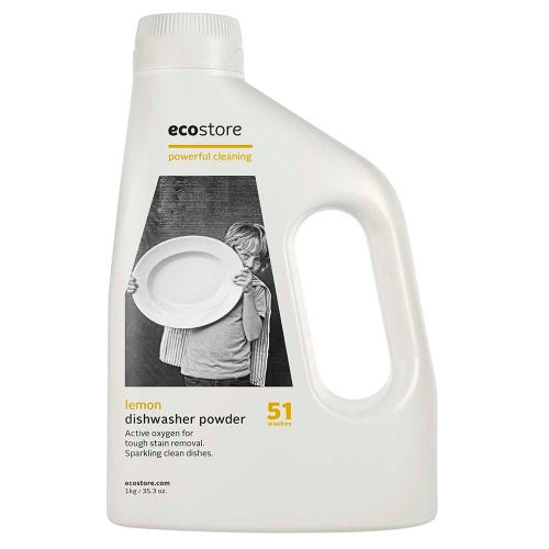 ecostore Dishwasher Powder - Lemon 51 Washes (1kg)