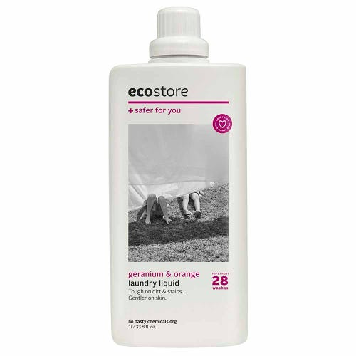 ecostore Laundry Liquid Geranium & Orange (1L)