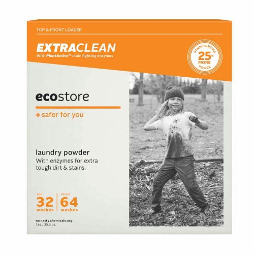ecostore Laundry Powder Extra Clean (1kg)