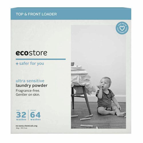 ecostore Laundry Powder Fragrance Free (1kg)