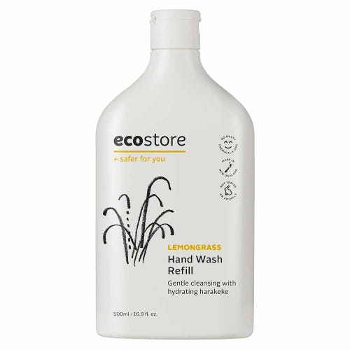 ecostore Hand Wash Lemongrass Refill (500ml)