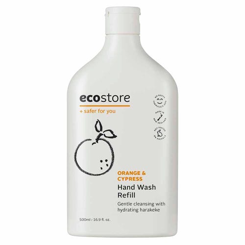 ecostore Hand Wash Orange & Cypress Refill (500ml)