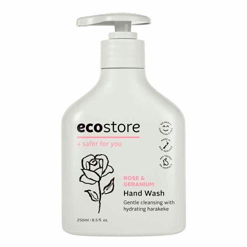 ecostore Hand Wash Rose & Geranium (250ml)