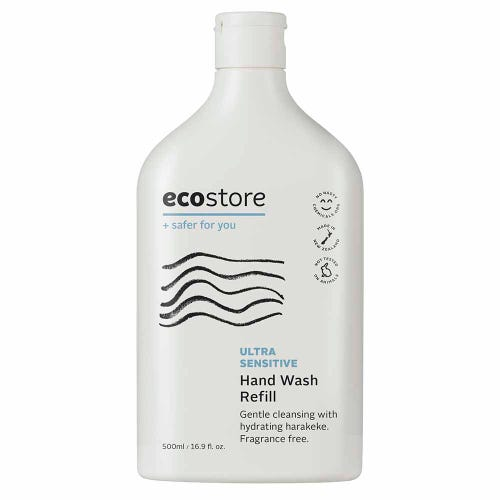 ecostore Hand Wash Ultra Sensitive Refill (500ml)