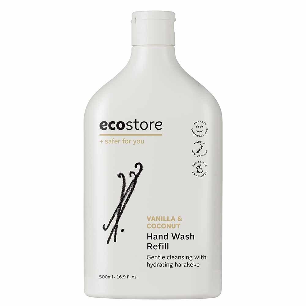 ecostore Hand Wash Vanilla & Coconut Refill (500ml)