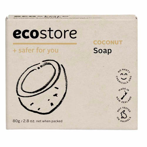 ecostore Natural Soap - Coconut (80g)