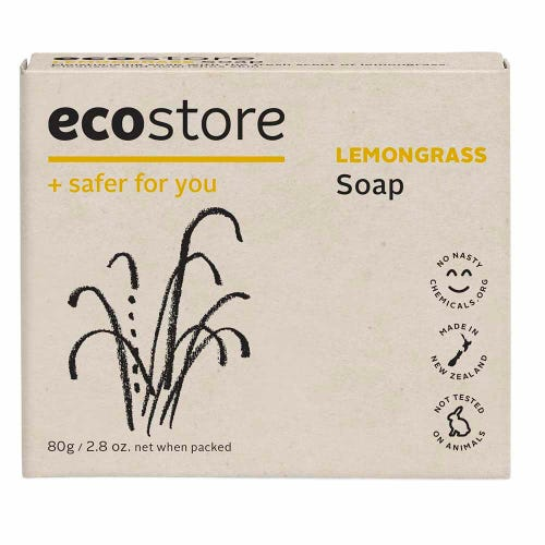 ecostore Natural Soap - Lemongrass (80g)