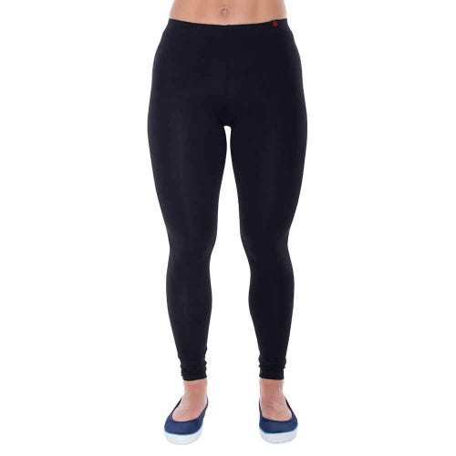 Etiko Women's Leggings Full Length - Black