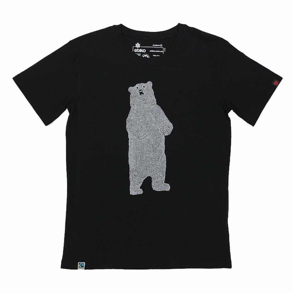 Etiko Organic T Shirt - Unisex - Bear