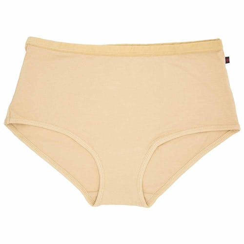 Etiko Organic Full Brief Knickers - Latte
