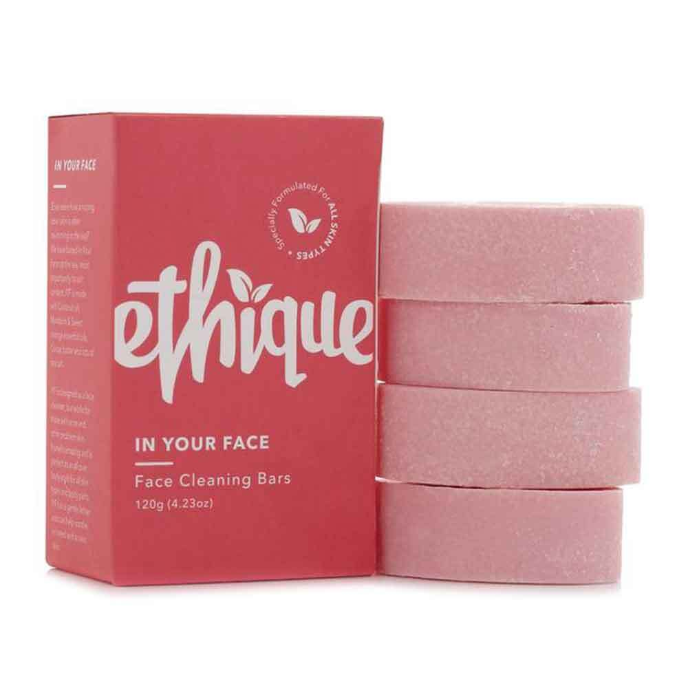 ethique face cleaning bars zero waste cleanser home spa skincare