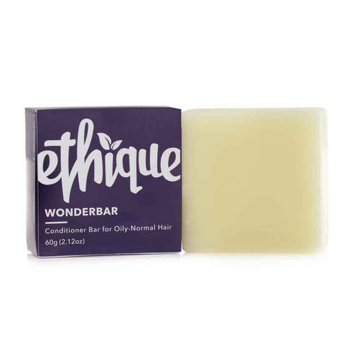 Ethique Conditioner Bar Wonderbar - Normal to Oily Hair (60g)