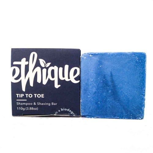 Ethique Shampoo & Shaving Bar Tip-to-Toe - For Men (110g)