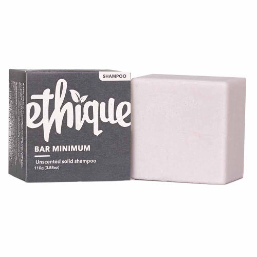 Ethique Shampoo - Bar Minimum - Unscented (110g)