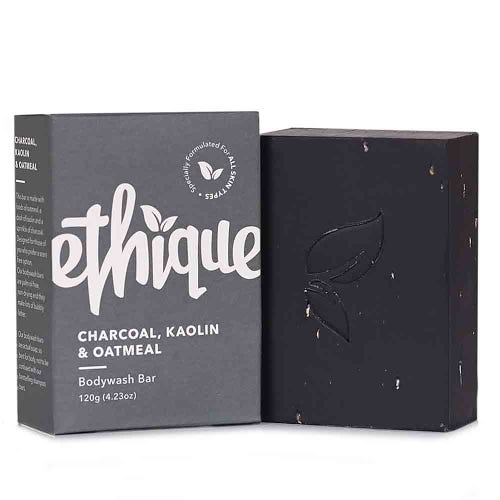 Ethique Bodywash Bar Charcoal, Kaolin & Oatmeal (120g)