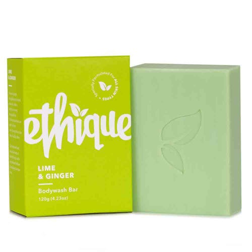 Ethique Bodywash Bar Lime & Ginger (120g)