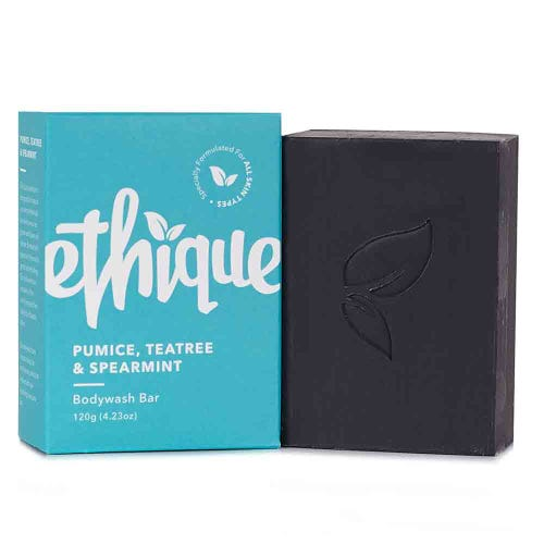 Ethique Bodywash Bar Pumice, Tea Tree & Spearmint (120g)