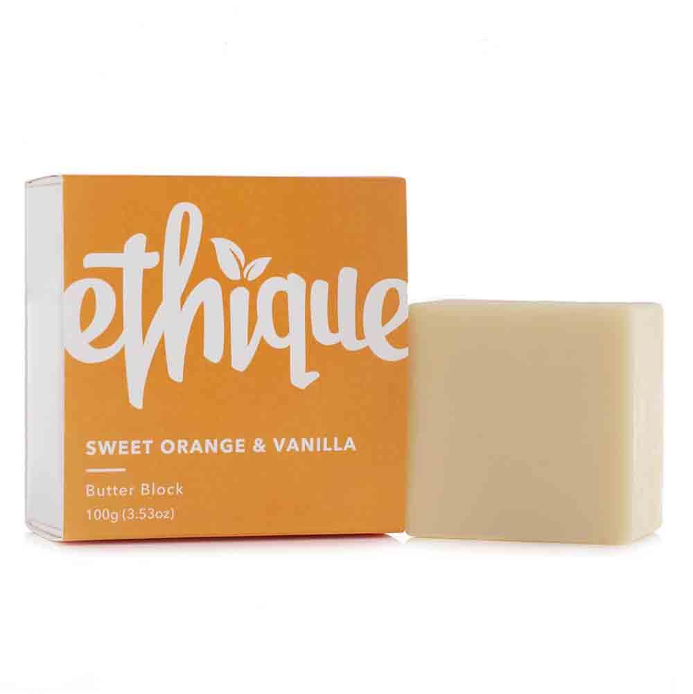 Ethique Butter Block - Sweet Orange & Vanilla (100g)