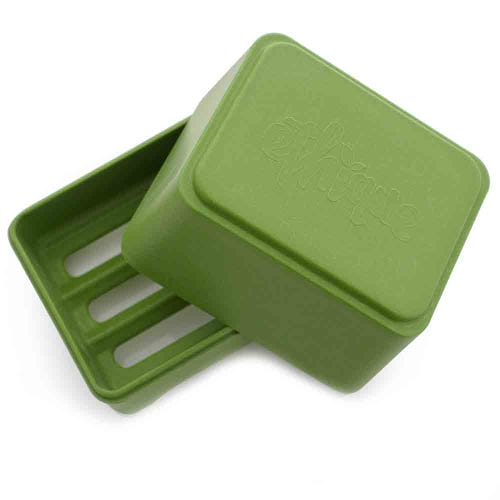 Ethique In-Shower Shampoo Bar Container - Green