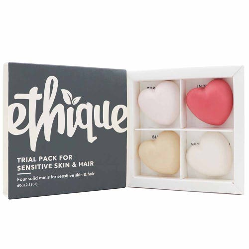 Ethique Trial Pack - Sensitive Skin & Hair (60g)
