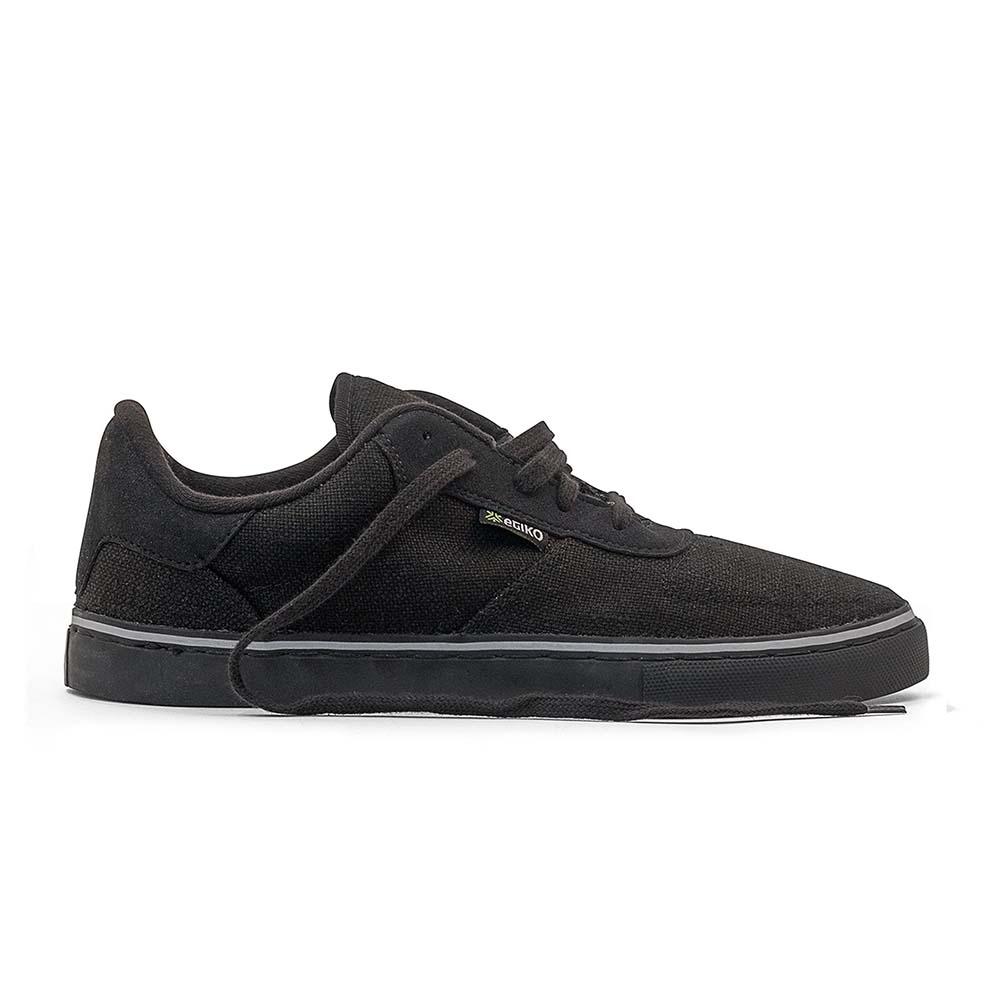 Etiko Hemp Sneaker - All Black