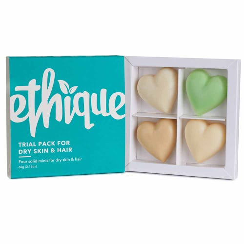 Ethique Trial Pack - Dry Skin & Hair (60g)