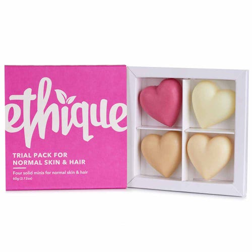 Ethique Trial Pack - Normal Skin & Hair (60g)