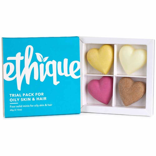 Ethique Trial Pack - Oily Skin & Hair (60g)