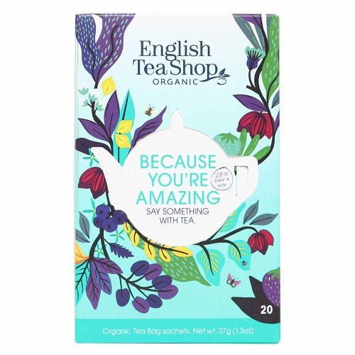 English Tea Shop Because You're Amazing Assorted Tea (20 Bags)